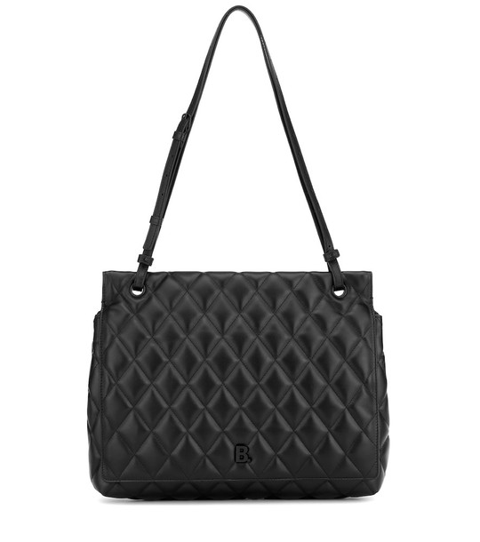 Balenciaga Touch Large leather shoulder bag in black