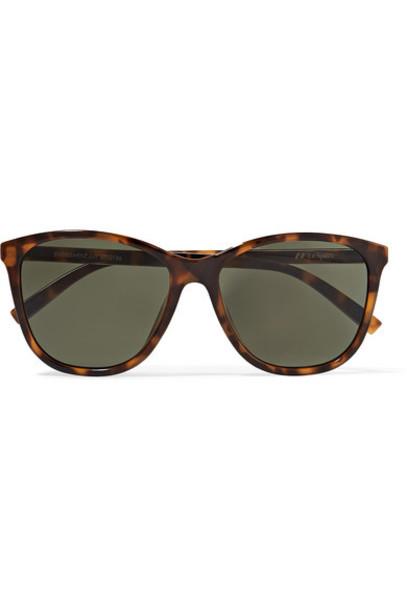Le Specs - Entitlement Cat-eye Tortoiseshell Acetate Sunglasses