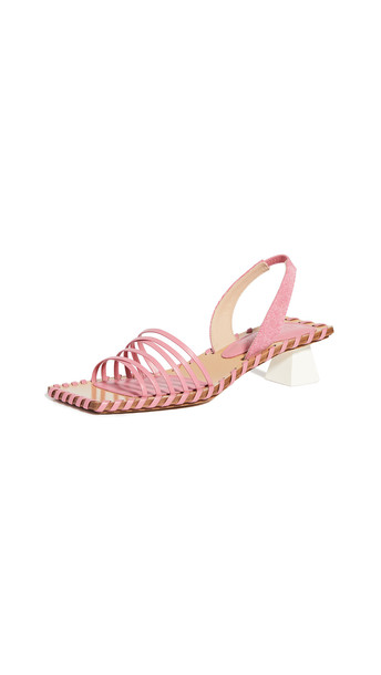 Jacquemus Les Sandales Valerie in pink