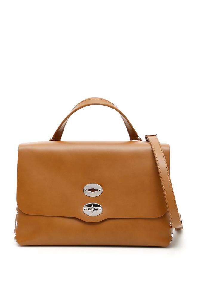 Zanellato Original Silk Postina M Bag in brown