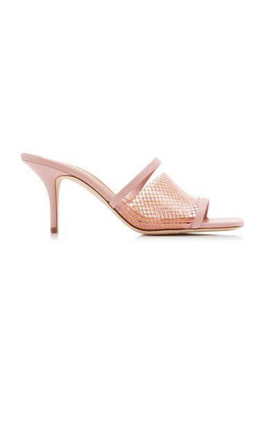 Malone Souliers Laney Pvc and Leather Sandals in pink