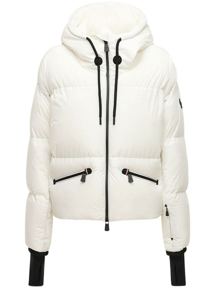 MONCLER GRENOBLE Allesaz Down Jacket in white