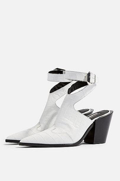 Topshop Huxley Western White Boots Wheretoget 7b6fygYv
