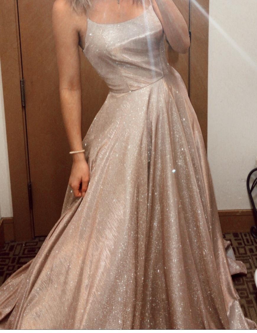 dress sparkle glitter prom dress