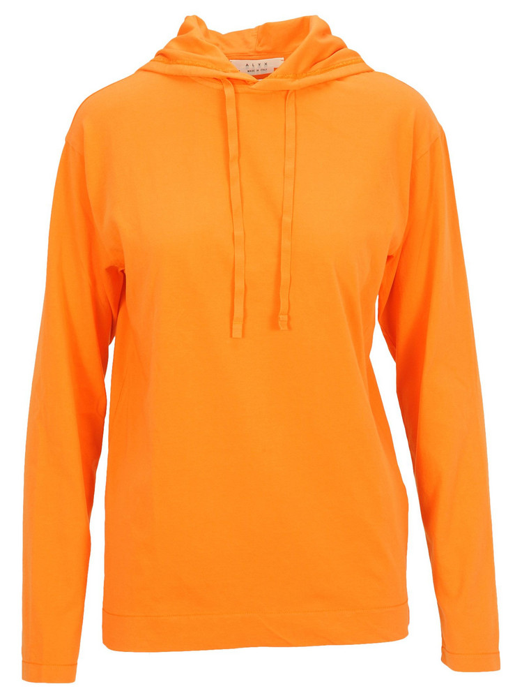 Alyx Alyx Printed Hoodie in orange