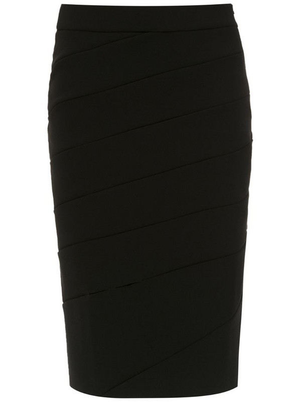 Uma - Raquel Davidowicz Bodas slim skirt in black
