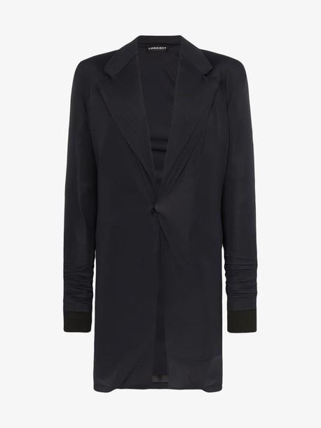 Y / Project Y/Project single-breasted wool blazer in black