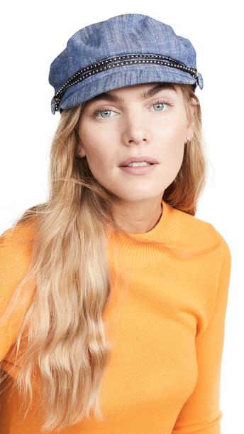 Eugenia Kim Genia Jessa Hat in blue
