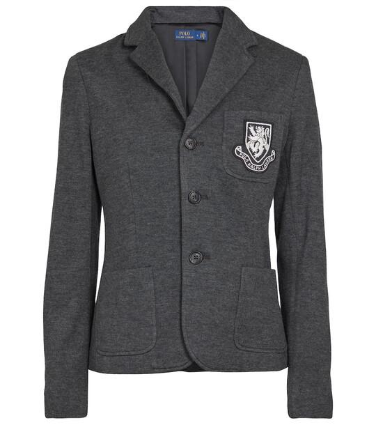 Polo Ralph Lauren Cotton-blend blazer in grey