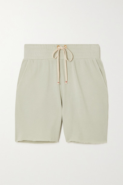 Les Tien - Cotton-jersey Shorts - Green
