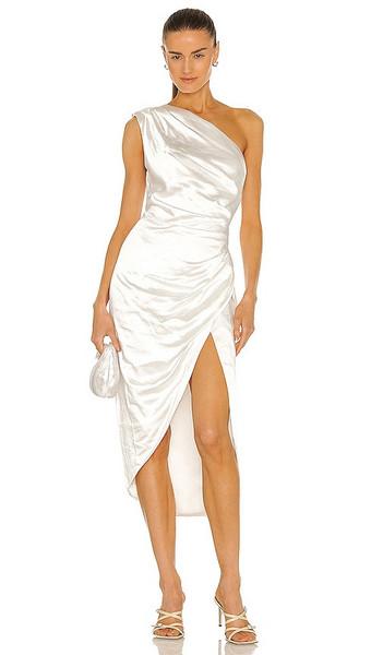 ELLIATT Cassini Dress in White in ivory