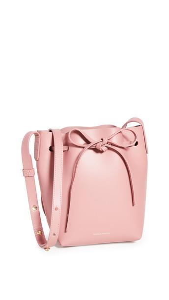 Mansur Gavriel Mini Mini Bucket Bag in blush