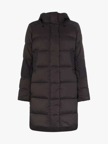 Canada Goose alliston padded coat in black