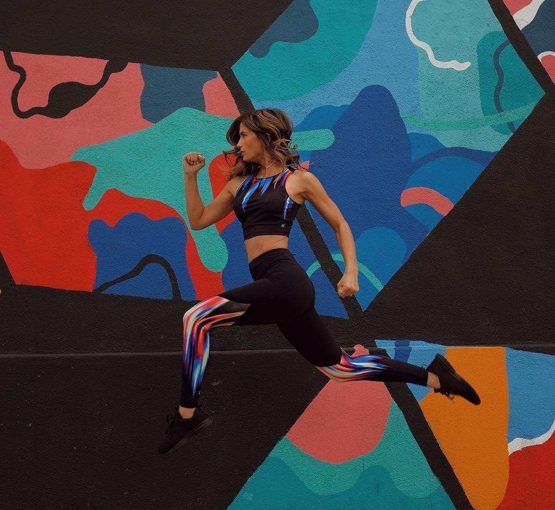 underwear rocky barnes instagram workout leggings workout sportswear sports bra blogger blogger style