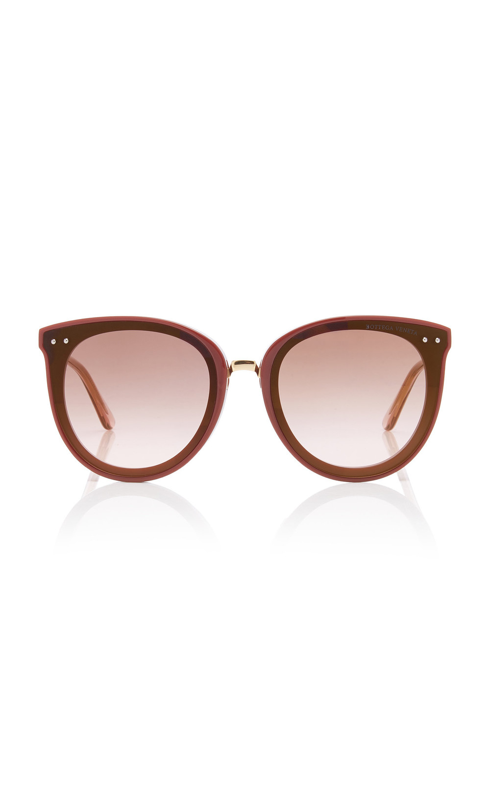 Bottega Veneta Sunglasses Acetate Cat-Eye Sunglasses in pink