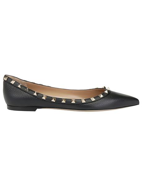 Valentino Garavani Ballerina Shoes in nero