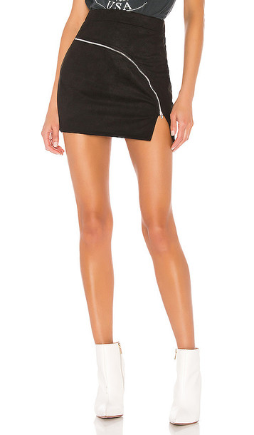 superdown Gloria Mini Skirt in Black