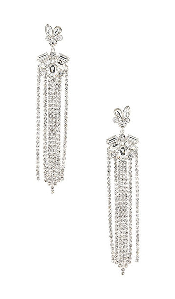 DUNDAS x REVOLVE Colette Earring in Metallic Silver