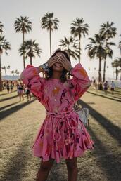 2016 | collage vintage,blogger,dress,shoes,pink dress,summer outfits,festival,coachella