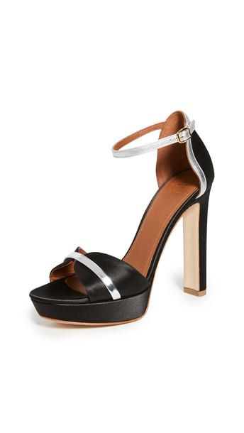 Malone Souliers Miranda MS 125 Sandals in black / silver