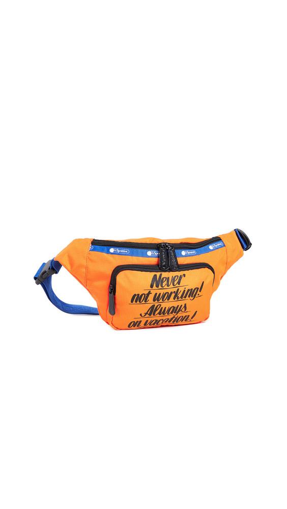 LeSportsac x Baron von Fancy Belt Bag in orange