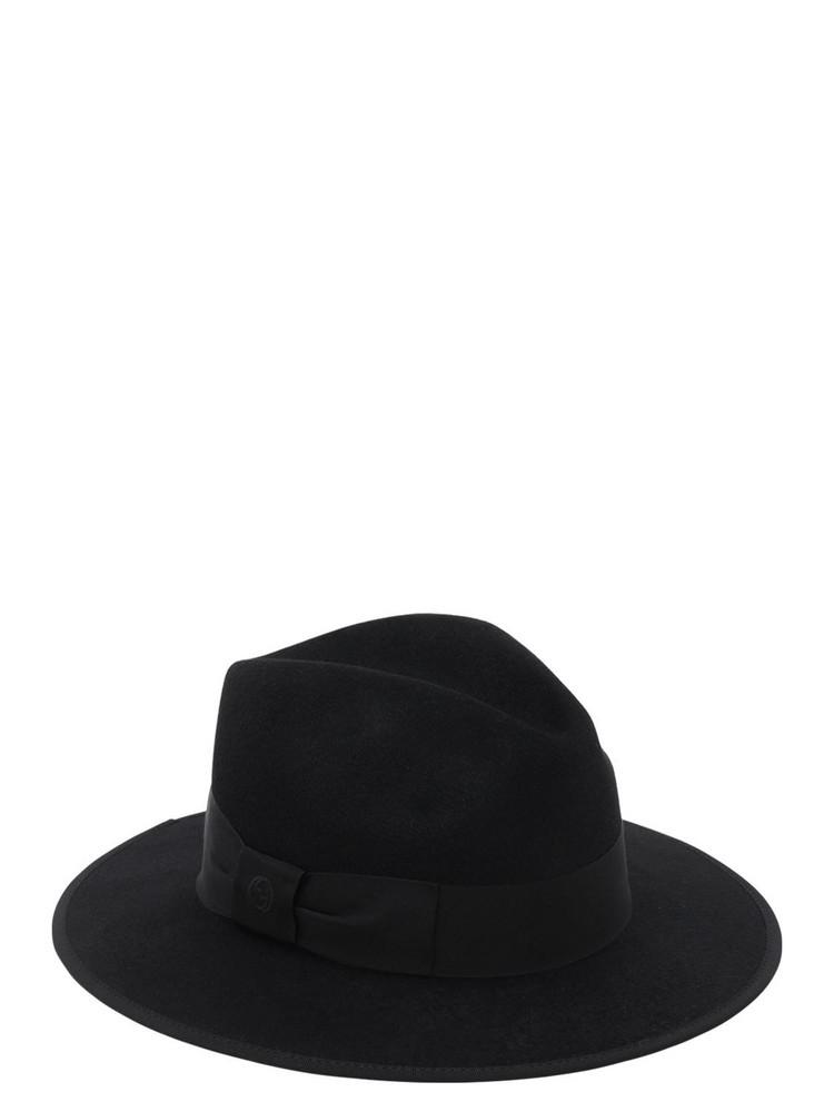 GUCCI Rabbit Fur Felt Hat in black