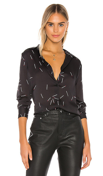 Equipment Essential Blouse in Black