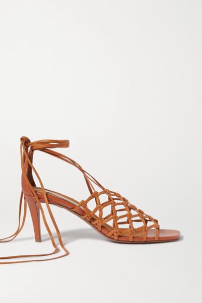 Stella McCartney - Vegetarian Leather Sandals - Tan