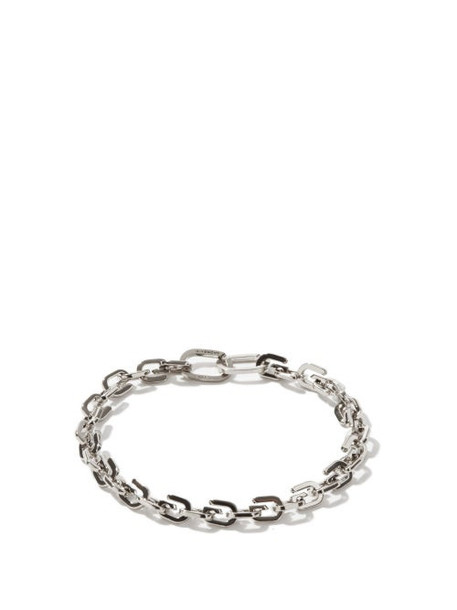 Givenchy - G-link Metal Bracelet - Womens - Silver