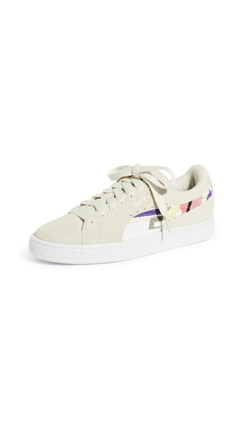 PUMA Suede World Good Sneakers in grey / white