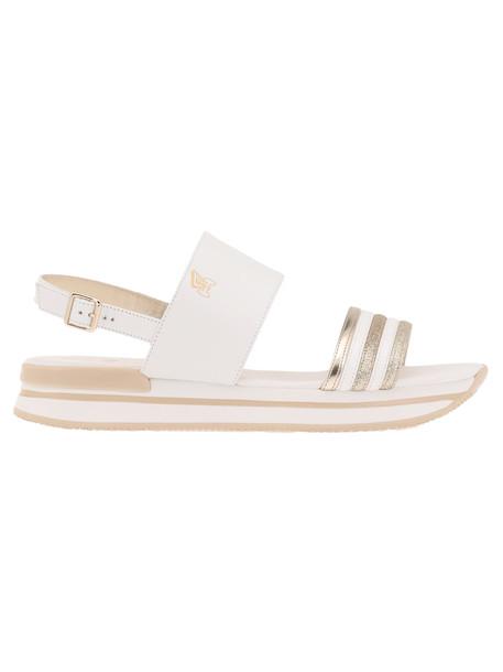 Hogan H257 Sandal in white