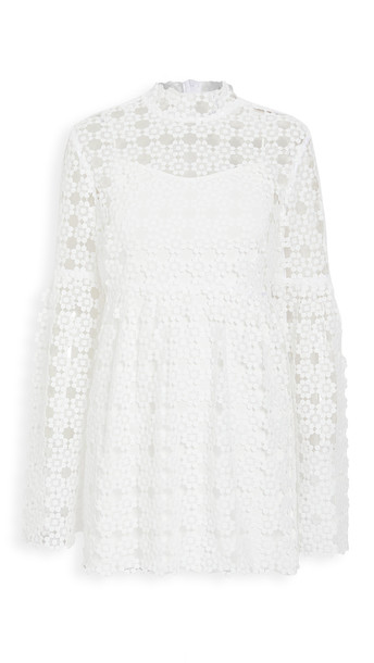 macgraw Carnation Dress in ivory