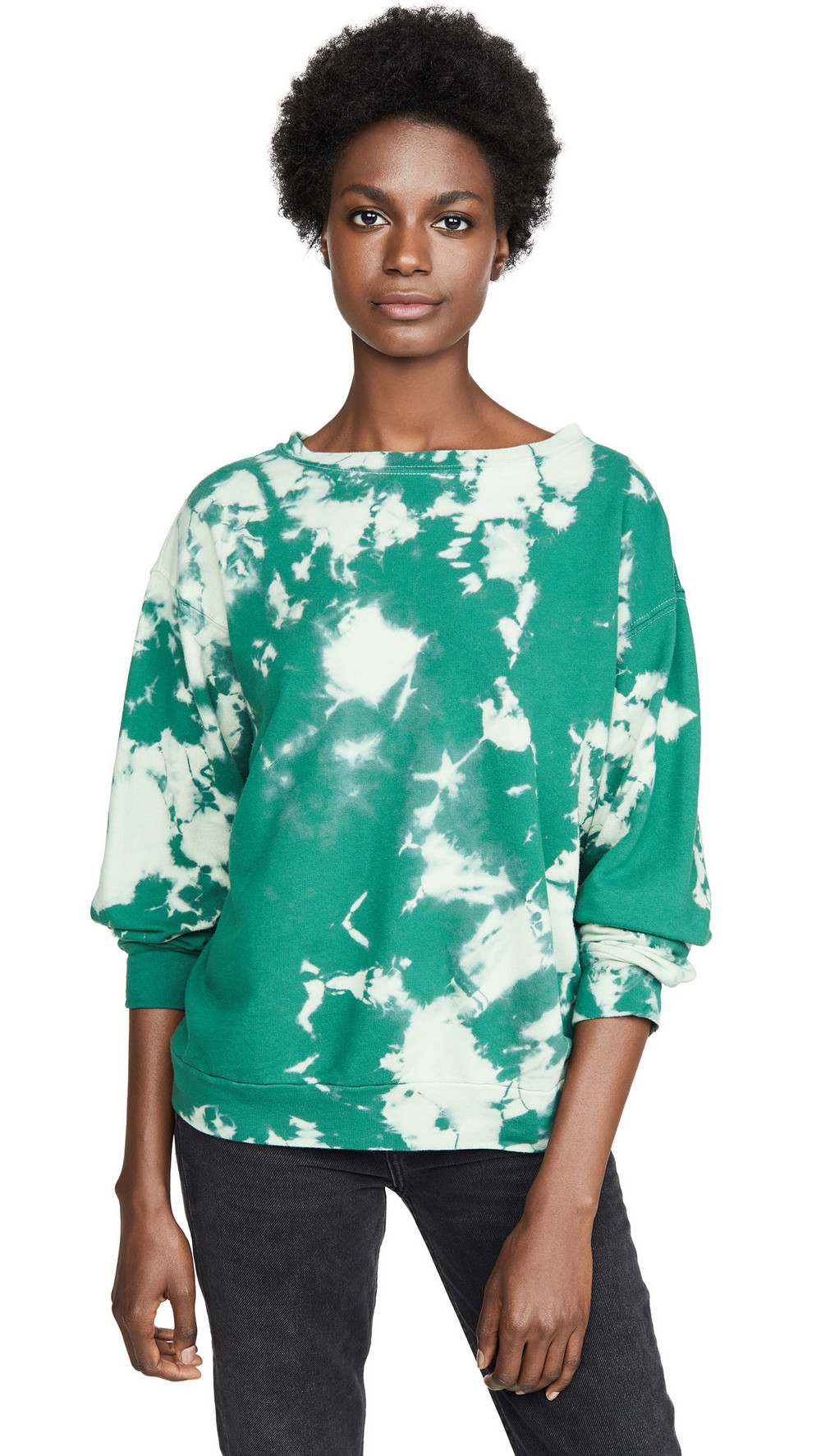 Prince Peter Tie Dye Pullover in green
