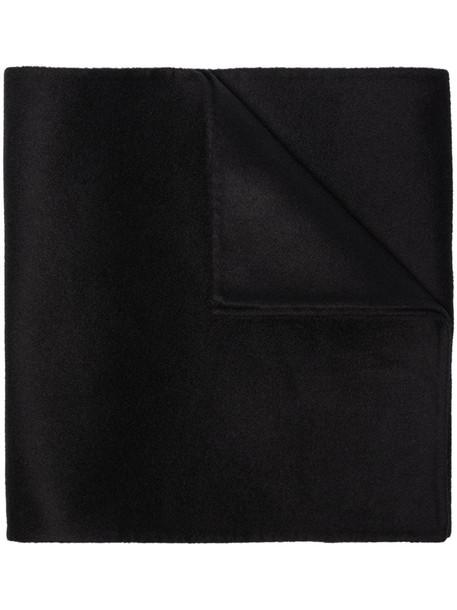 Totême knit style scarf in black
