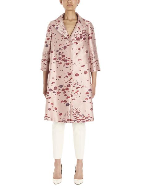 Max Mara Studio tobia Coat in pink