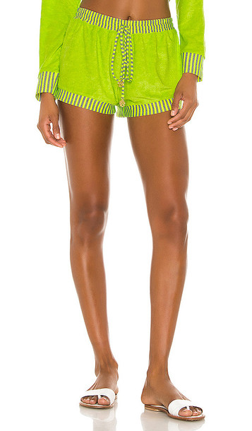 Luli Fama Relaxed Shorts in Yellow