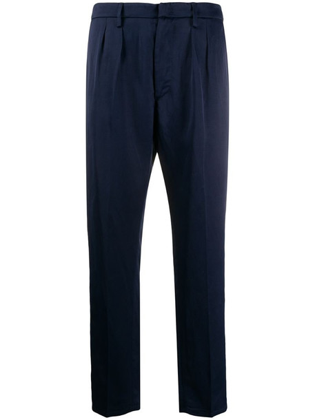 Dondup tailored trousers in blue