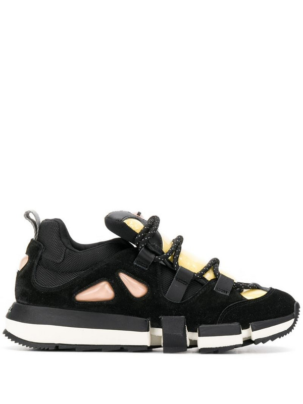 Diesel hybrid sneakers in black