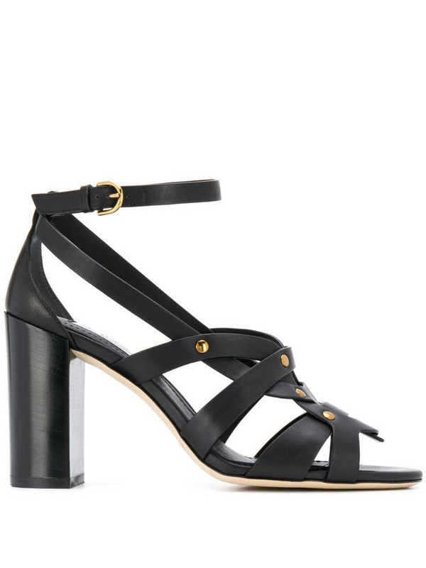 Tod's open toe sandals in black