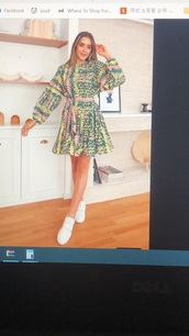 dress,pastel,floral dress,short dress