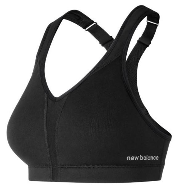 New Balance 71039 Women's NB Power Bra - Black (WB71039BK)