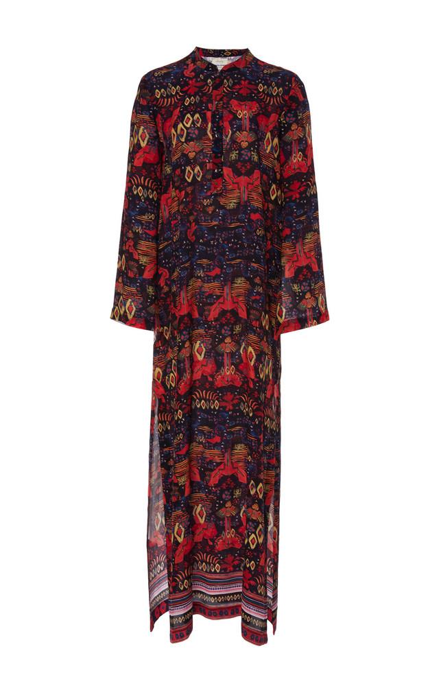 Chufy Nazca Printed Broadcloth Maxi Dress in print