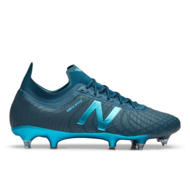 New Balance Tekela v2 Pro SG Men's Soccer Shoes - Green/Blue (MSTPSSB2)