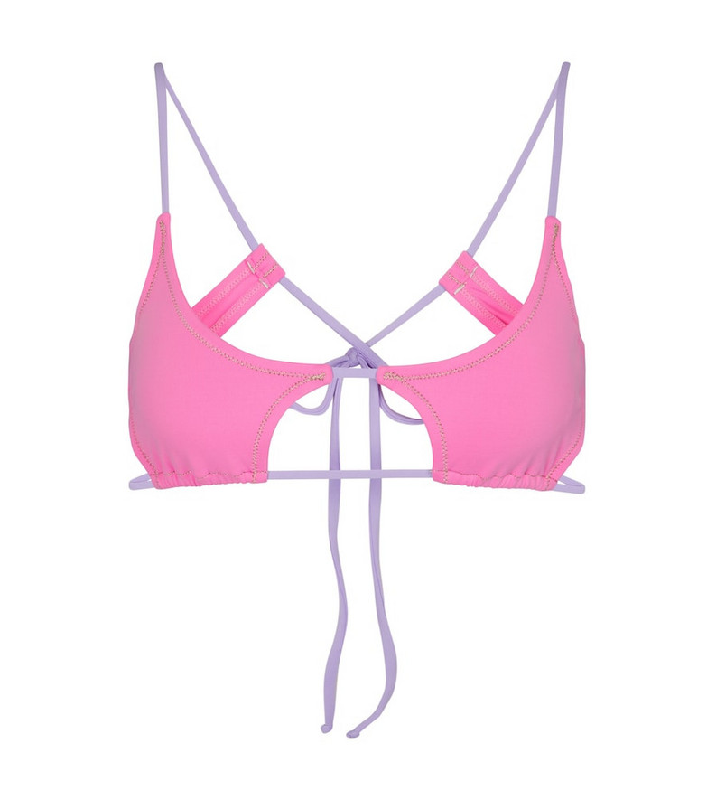Reina Olga Exclusive to Mytheresa – Theresa bikini top in pink