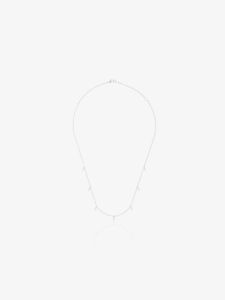 Dana Rebecca Designs 14K white gold Sophia Ryan diamond charm necklace