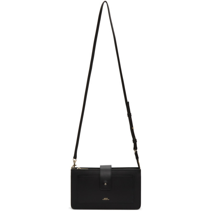 A.P.C. A.P.C. Black Albane Bag in noir