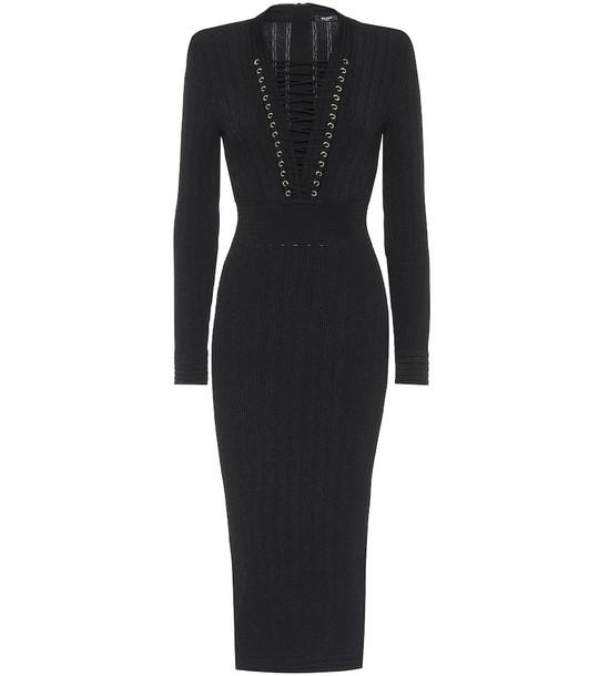 Balmain Knit dress in black