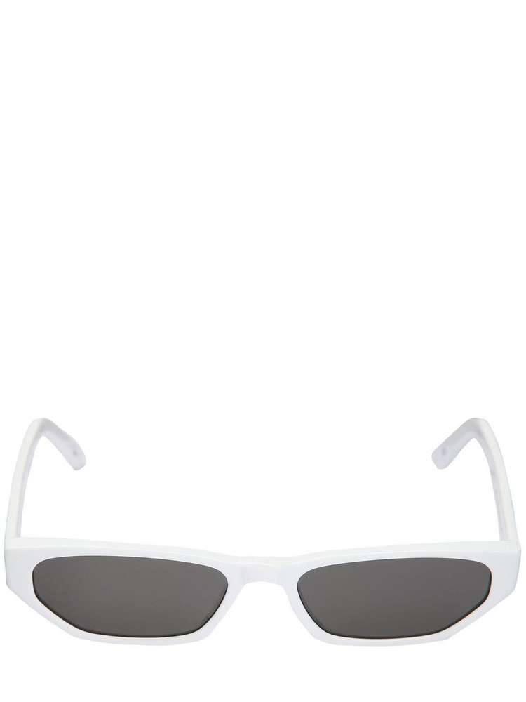 ANDY WOLF Tamsyn Acetate Sunglasses in white
