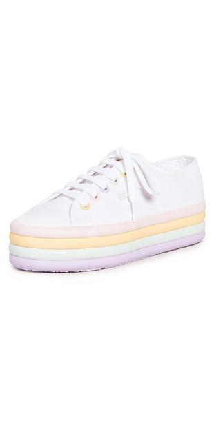 Superga 2790 Candy Platform Sneakers in multi