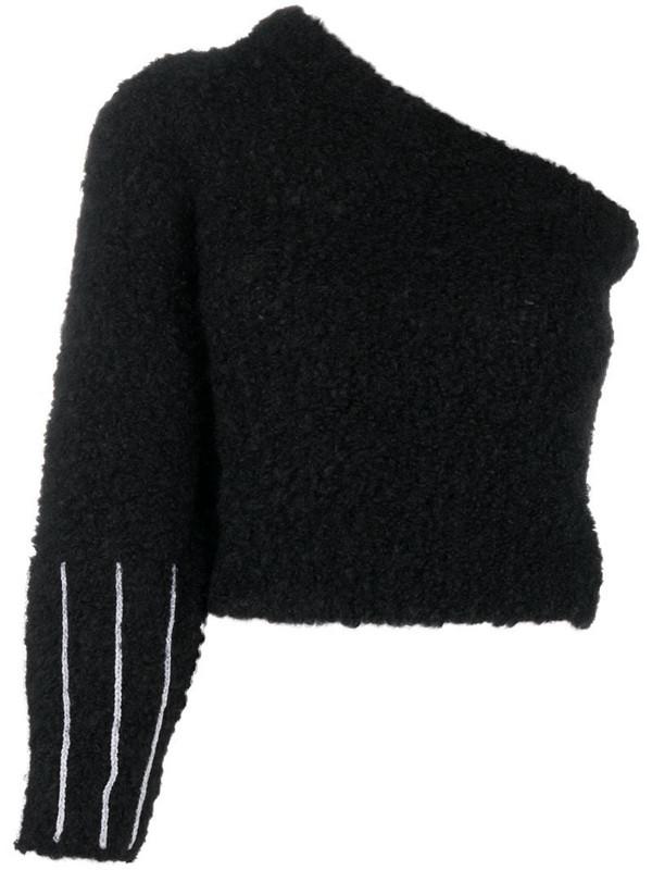 Antonella Rizza one-shoulder jumper in black